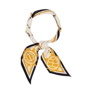 NWT Henri Bendel Sunshine Twilly Skinny Scarf